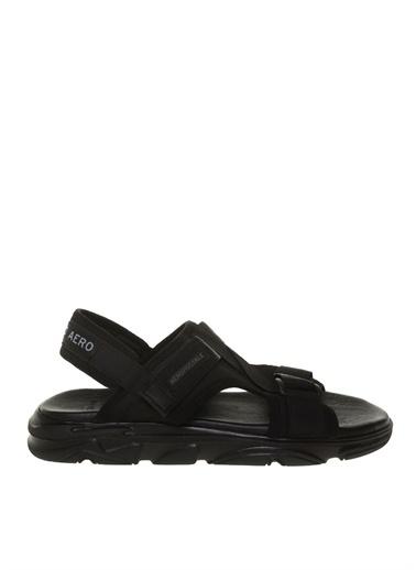 Aeropostale Spor Sandalet Siyah